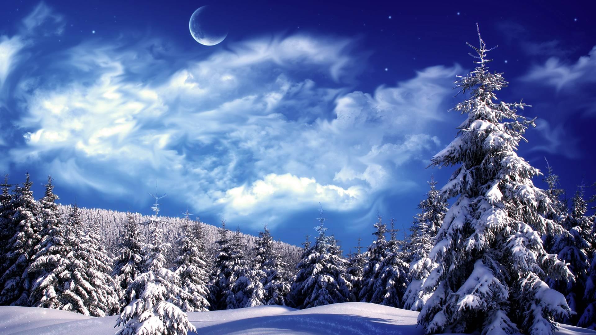 winter wonderland wallpaper wide or hd fantasy wallpapers