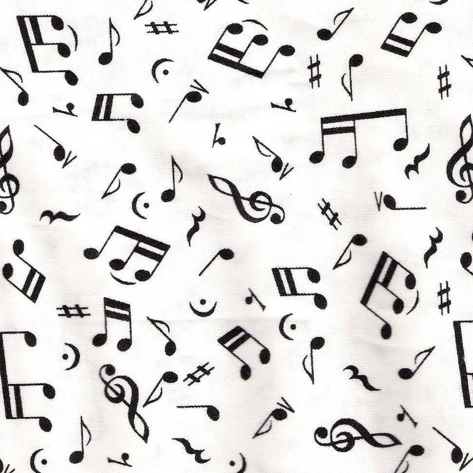 Wallpapers For > Music Notes Wallpapers Black And White