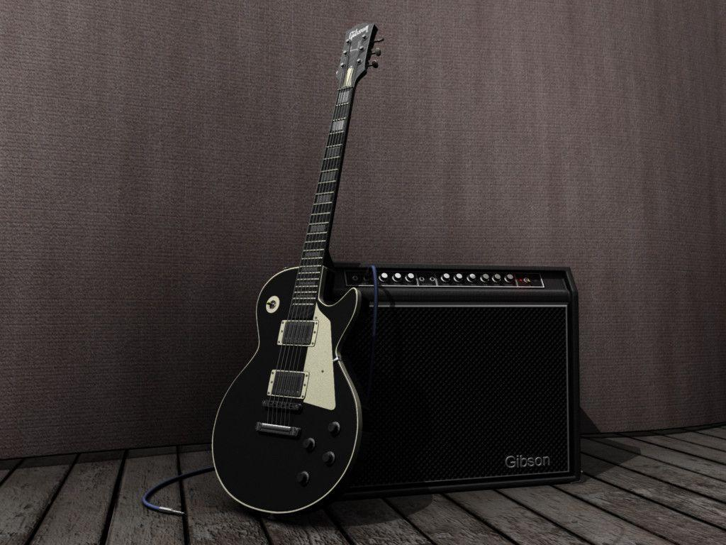 Gibson Les Paul Wallpapers by nicollearl