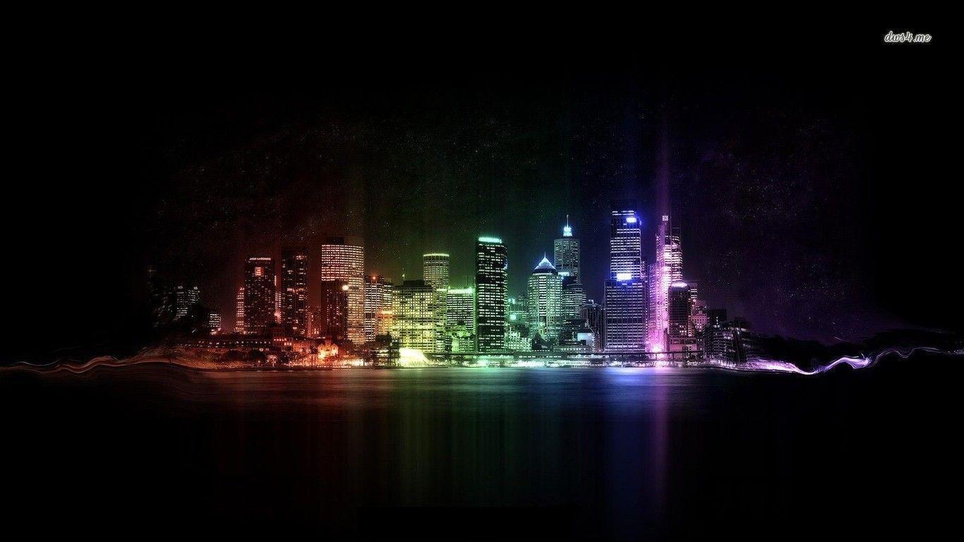 neon lights wallpaper - photo #23