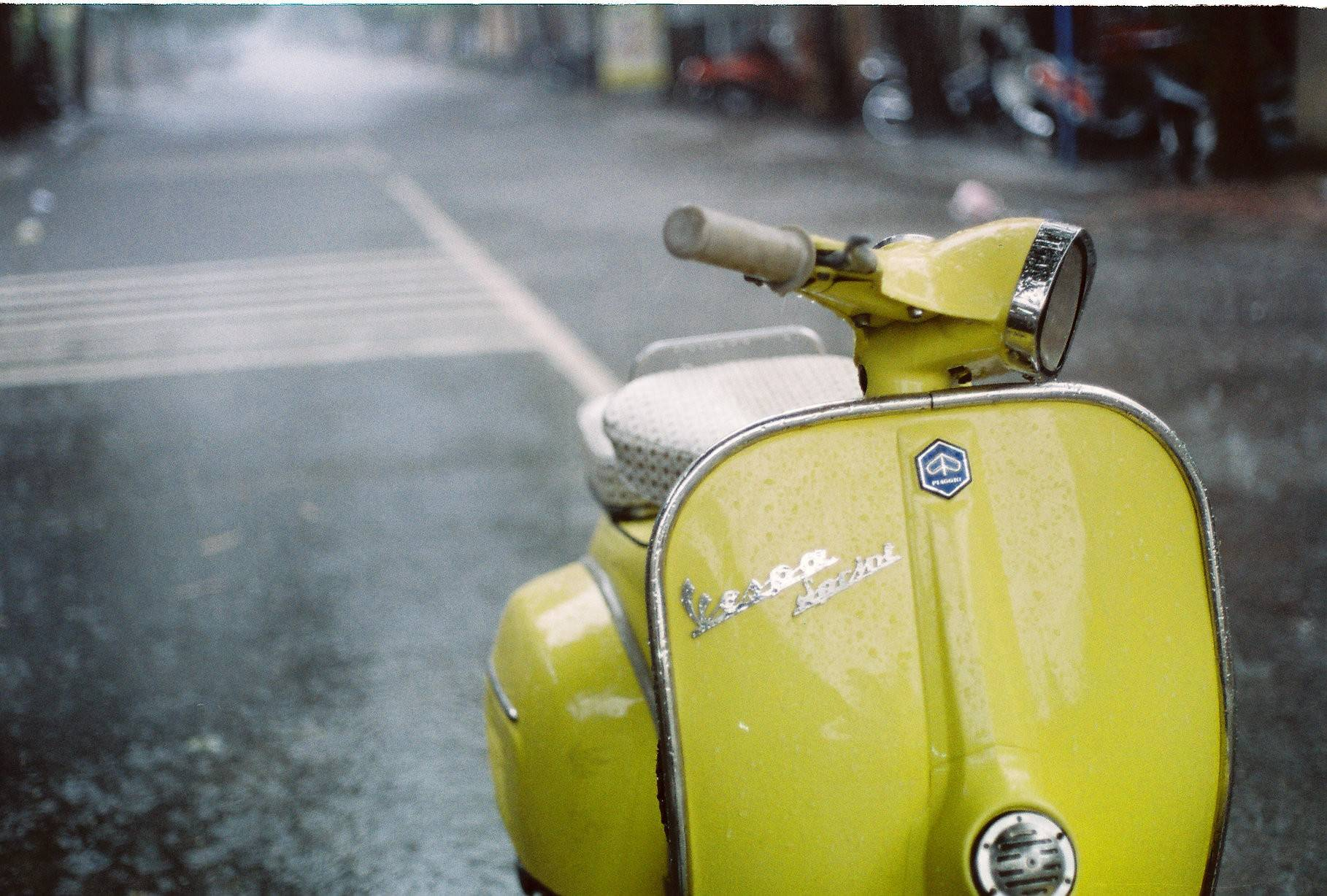 Vespa Scooter 1974 Wallpapers 1298 Hi-Resolution | Best Free JPG