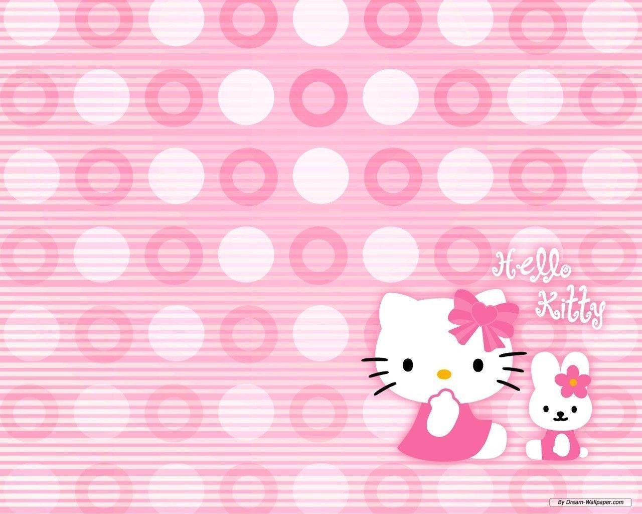 cute pink hello kitty wallpaper - photo #21