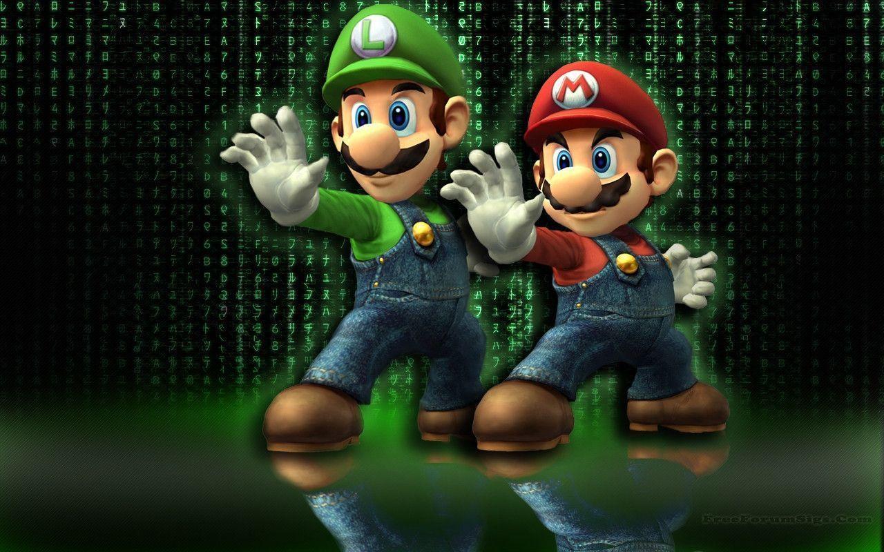Mario And Luigi Wallpapers Wallpaper Cave