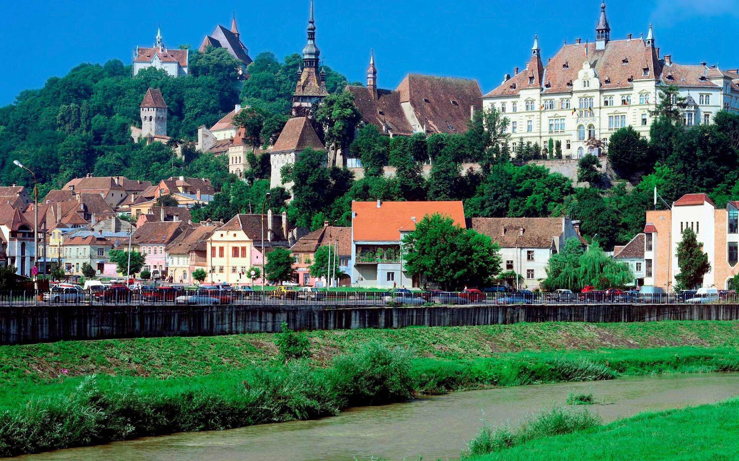Sighisoara Romania Wallpapers