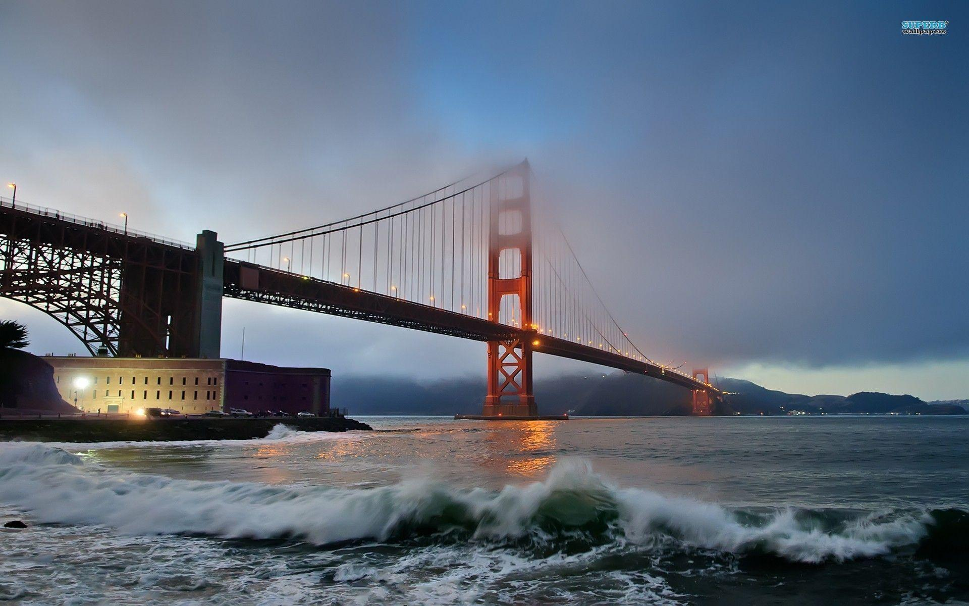 Golden Gate Bridge wallpaper - World wallpapers - #