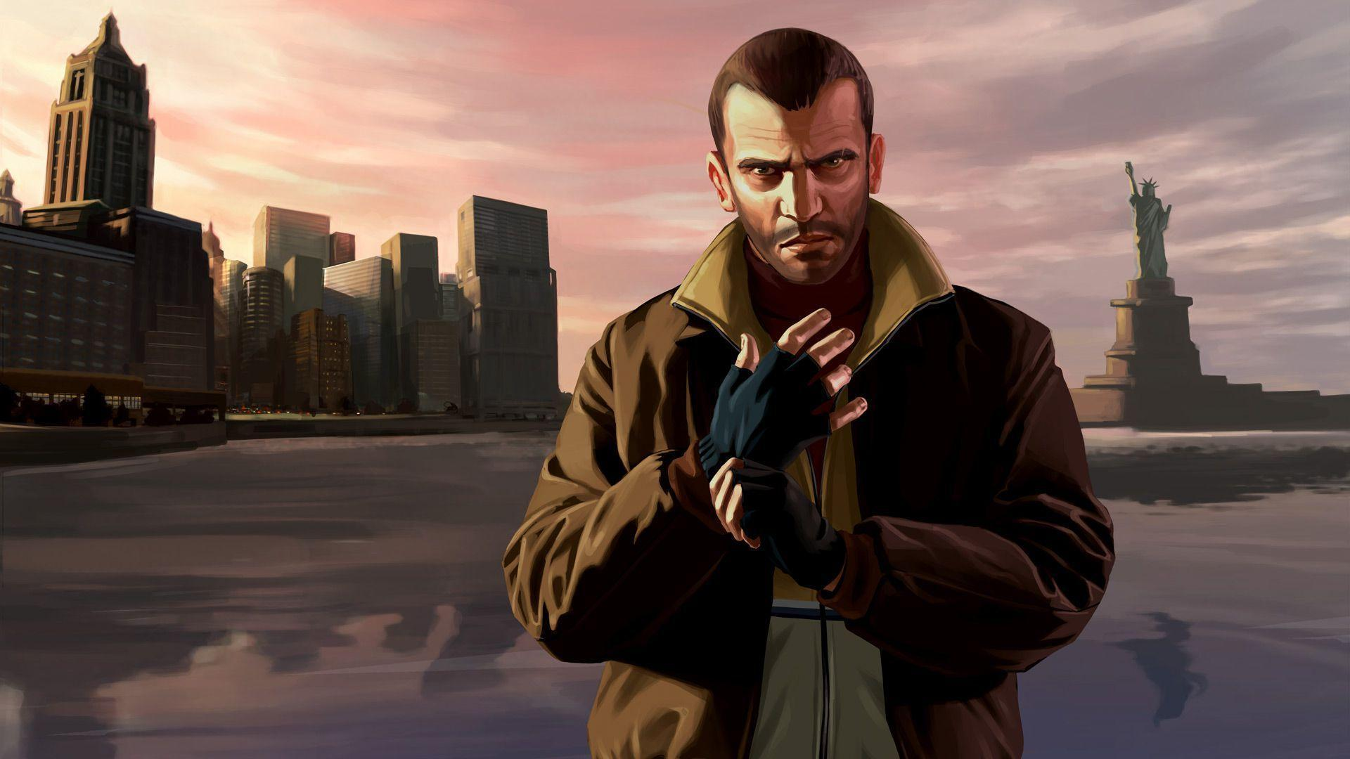 Video Games Grand Theft Auto Niko Bellic Gta Iv Fresh New Hd Wallpaper