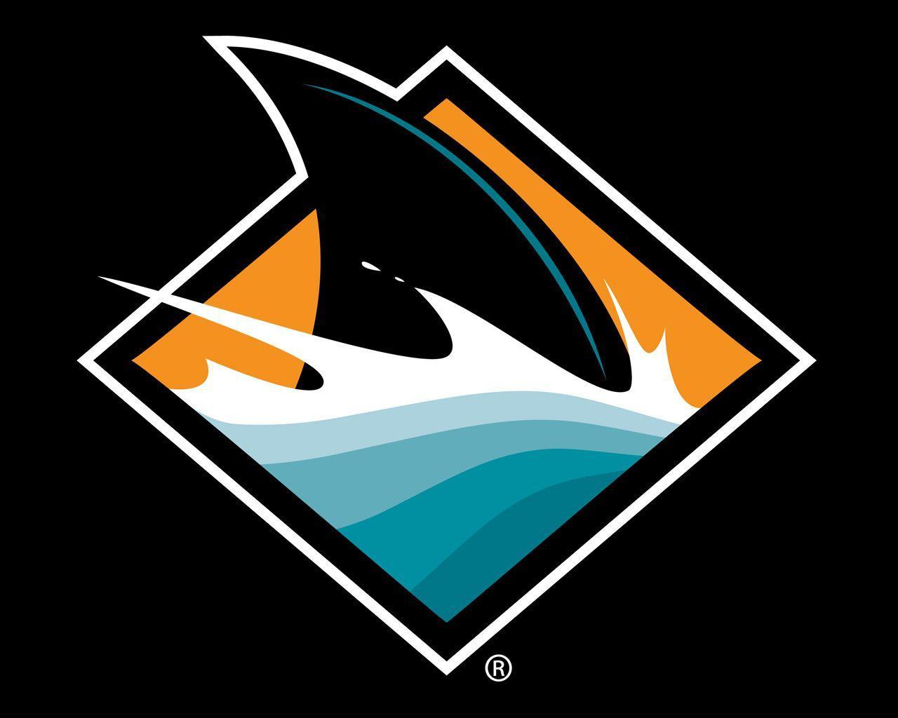 san jose sharks wallpapers wallpaper cave san jose shark fin logo Shark Week Logo