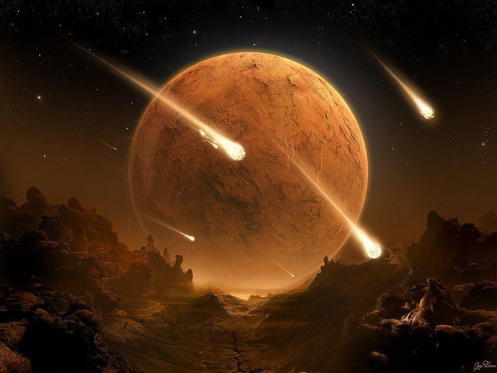 space planets wallpaper img2 «1024x768 «Space art «Universe, space ...