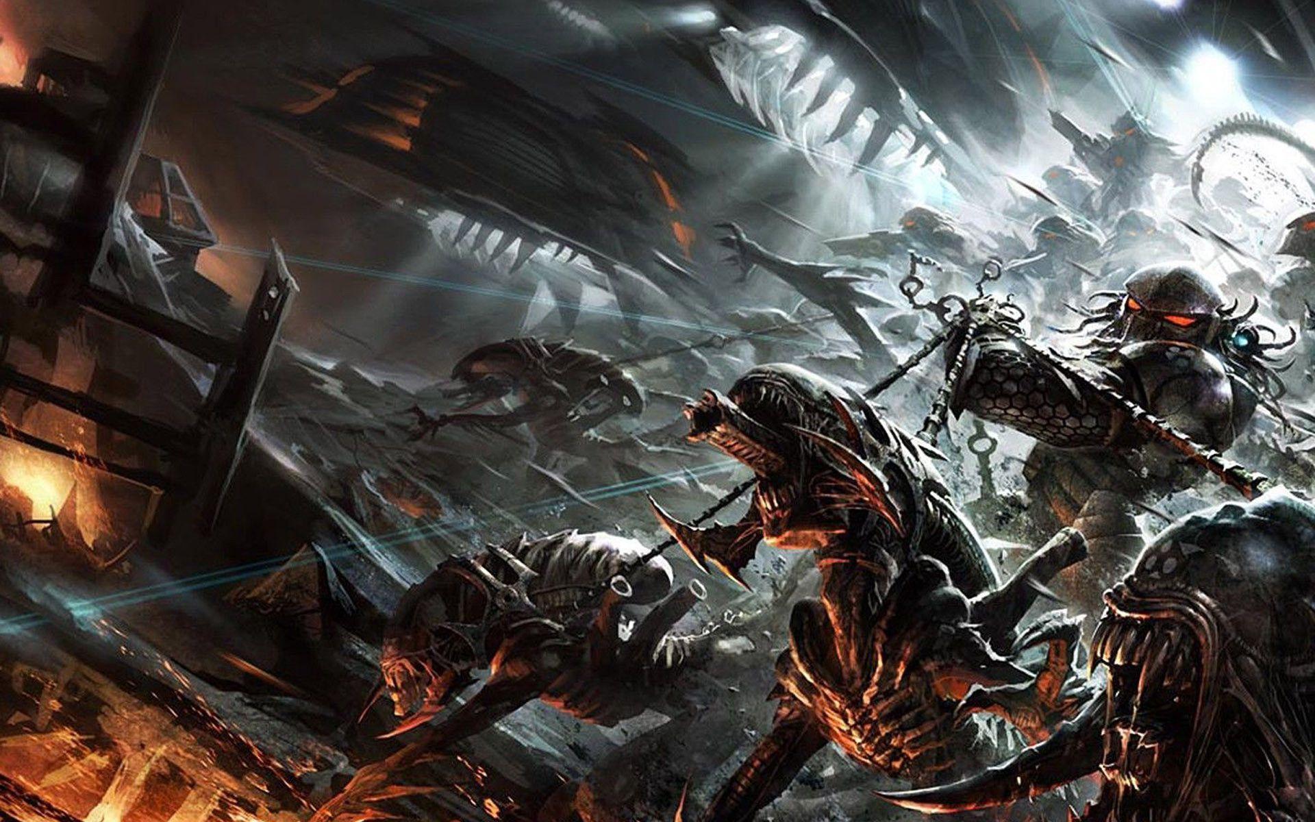 Alien Vs Predator Wallpapers