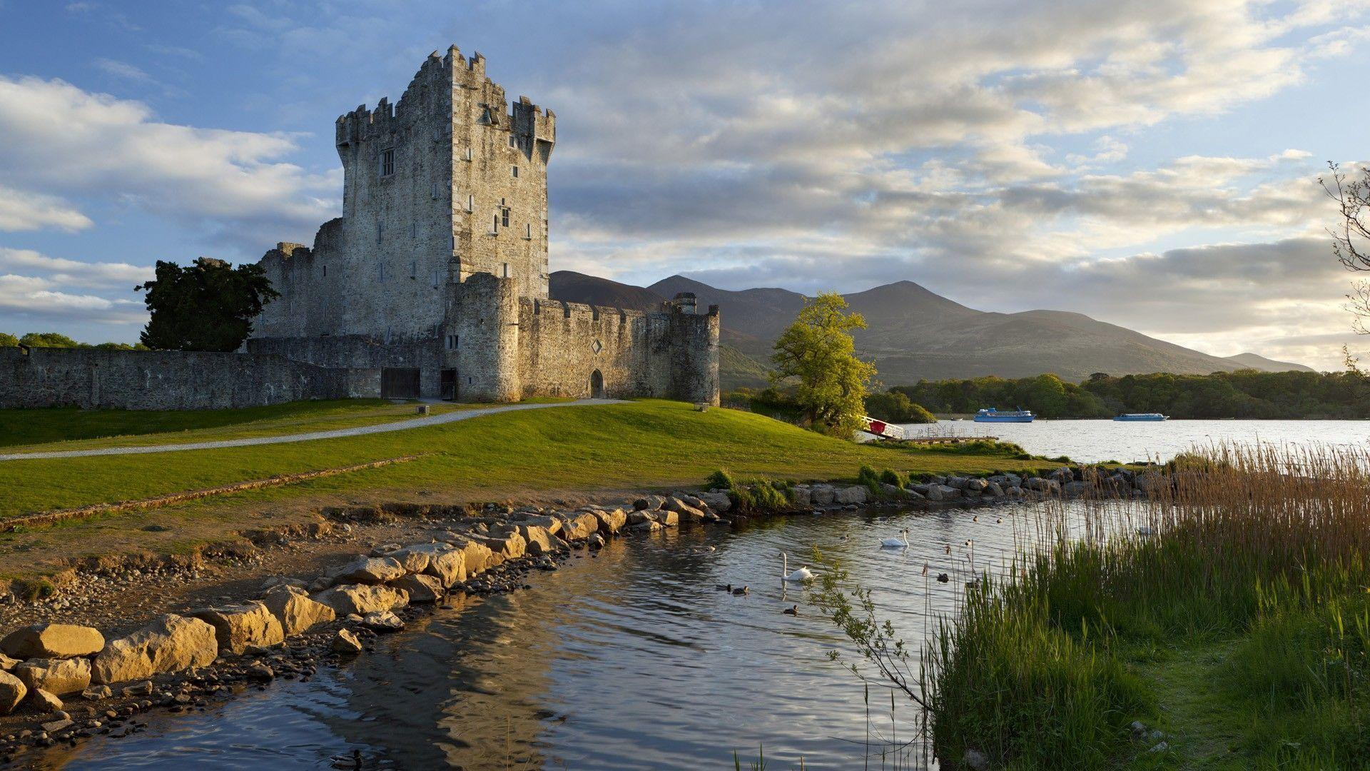 Wallpapers For > Irish Castle Wallpapers