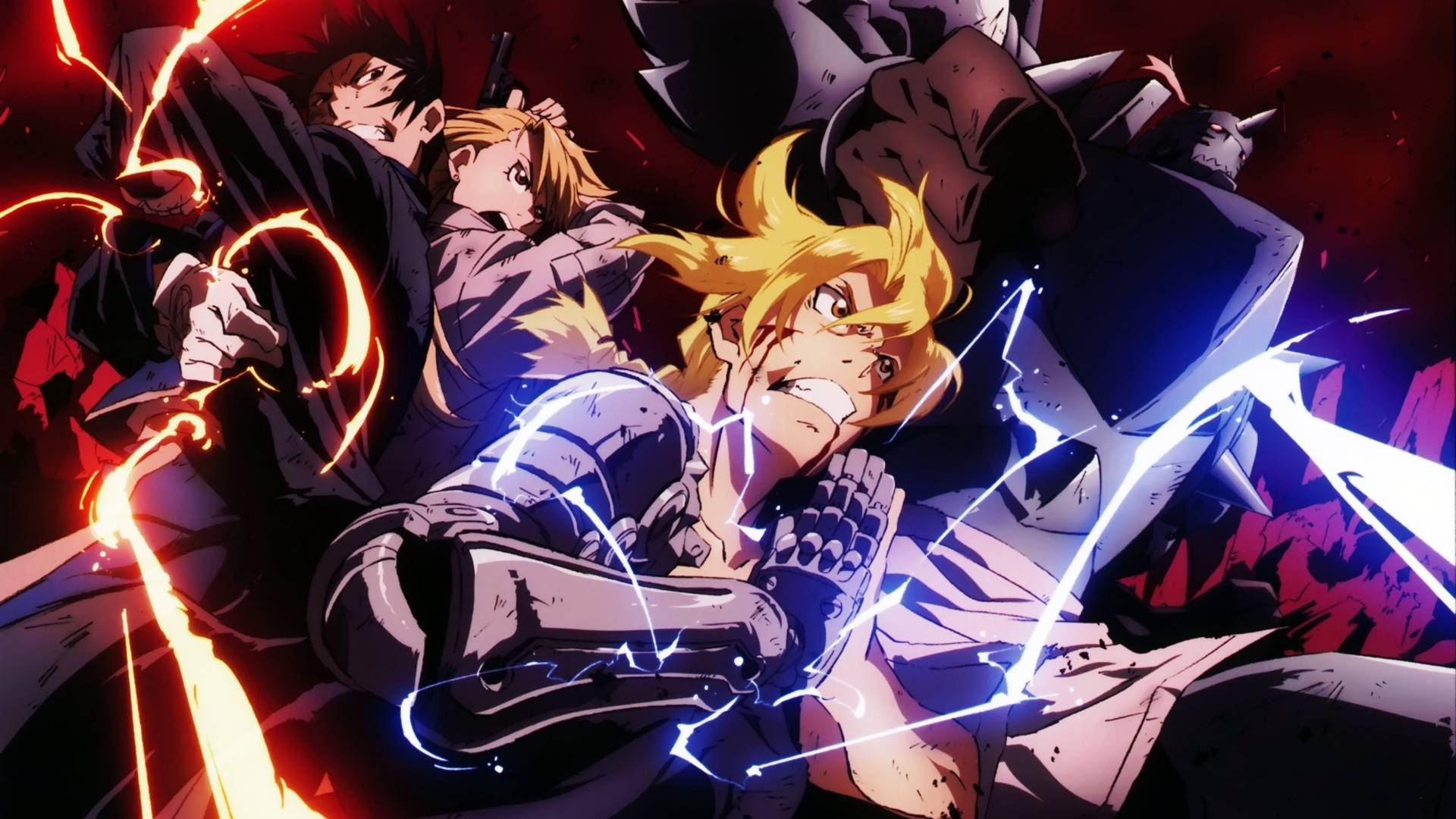 Fullmetal Alchemist HD Wallpapers - Wallpaper Cave