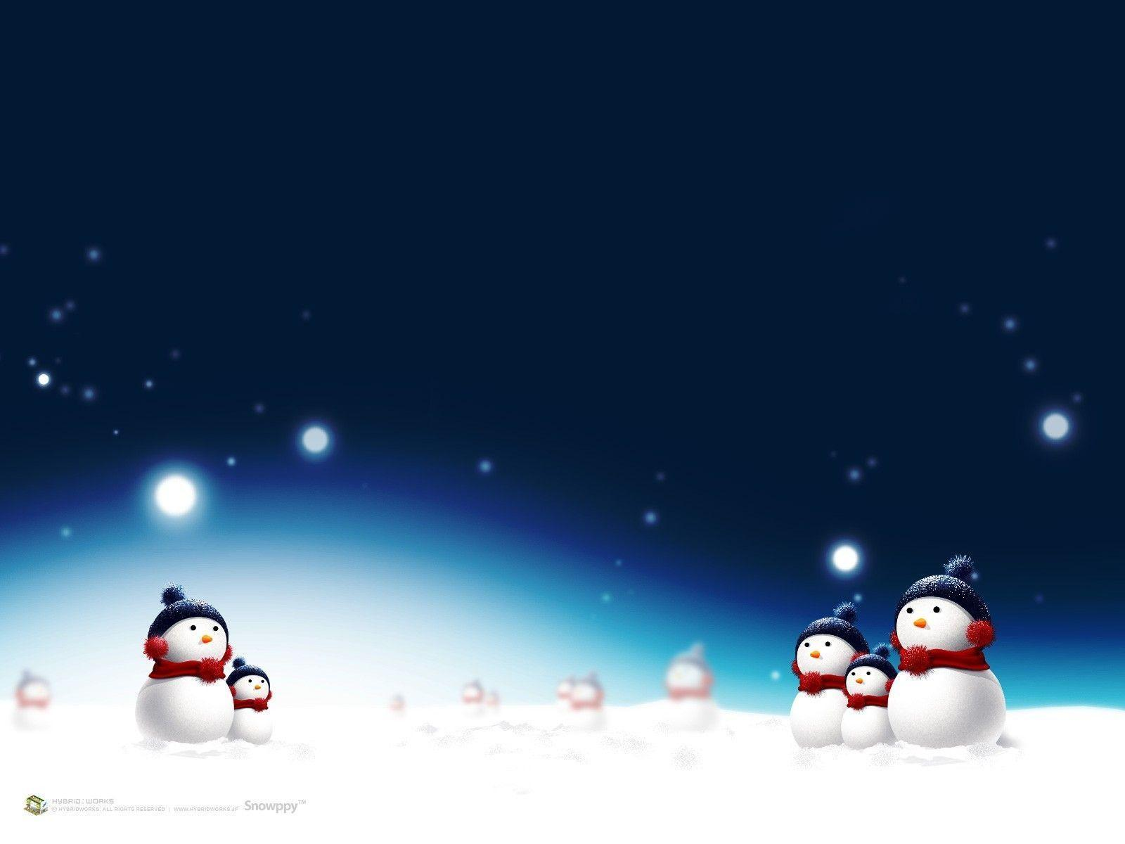 Wallpapers For > Winter Snow Christmas Backgrounds