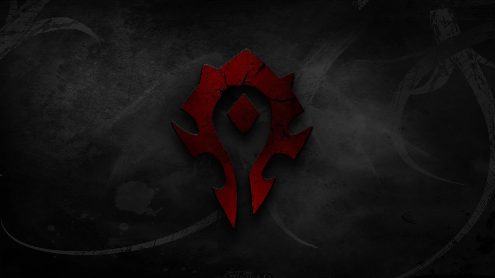 Image For > Wow Horde Logo Wallpapers