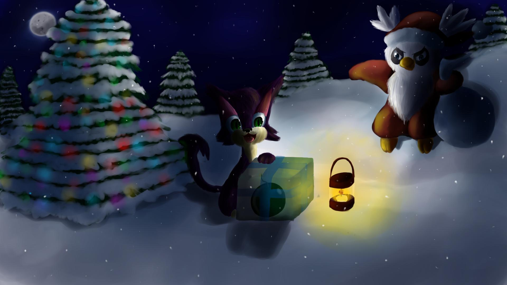 Pokemon Christmas Wallpapers - Wallpaper Cave