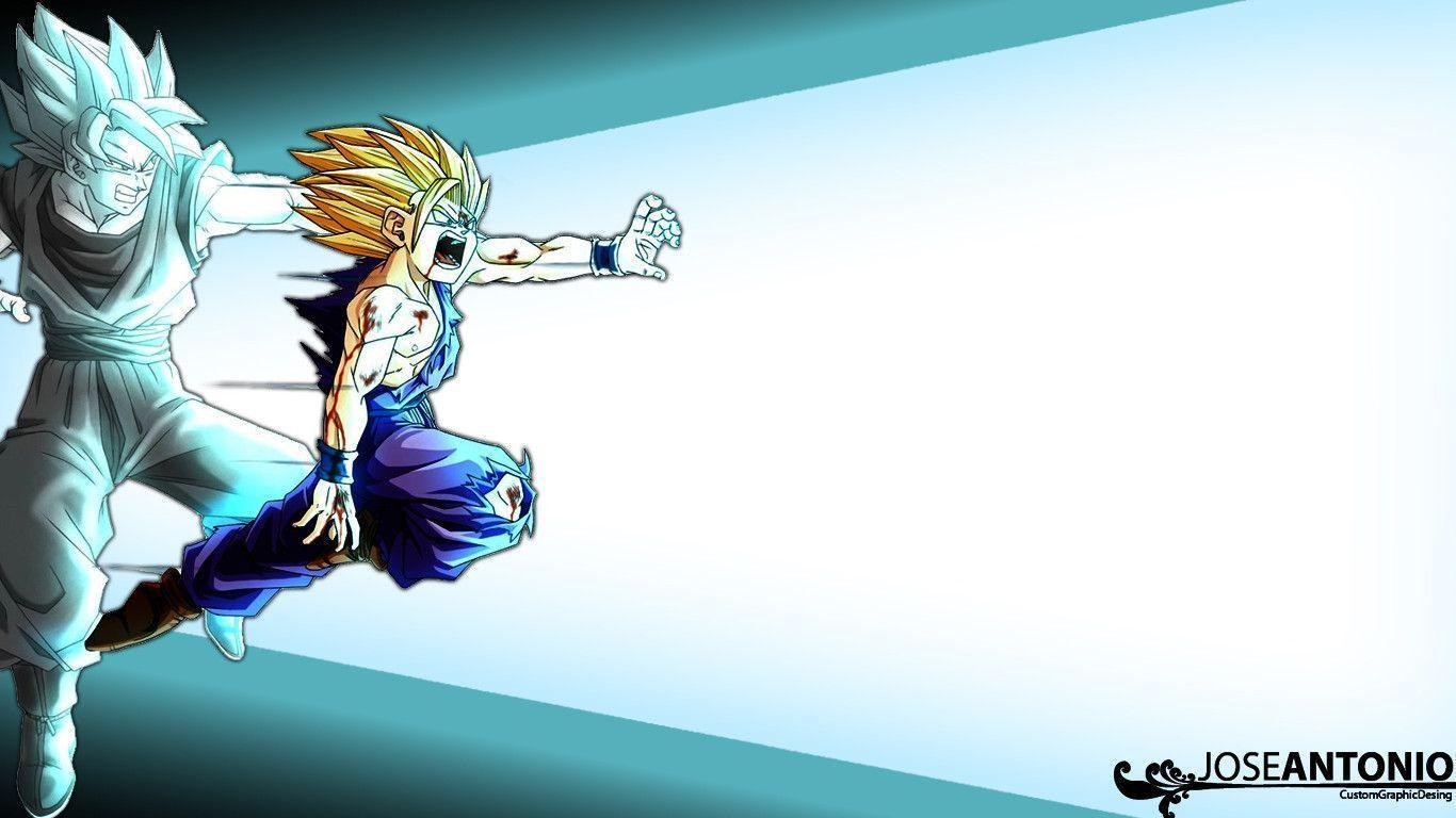 Goku And Gohan Kamehameha Wallpapers Wallpaper Cave
