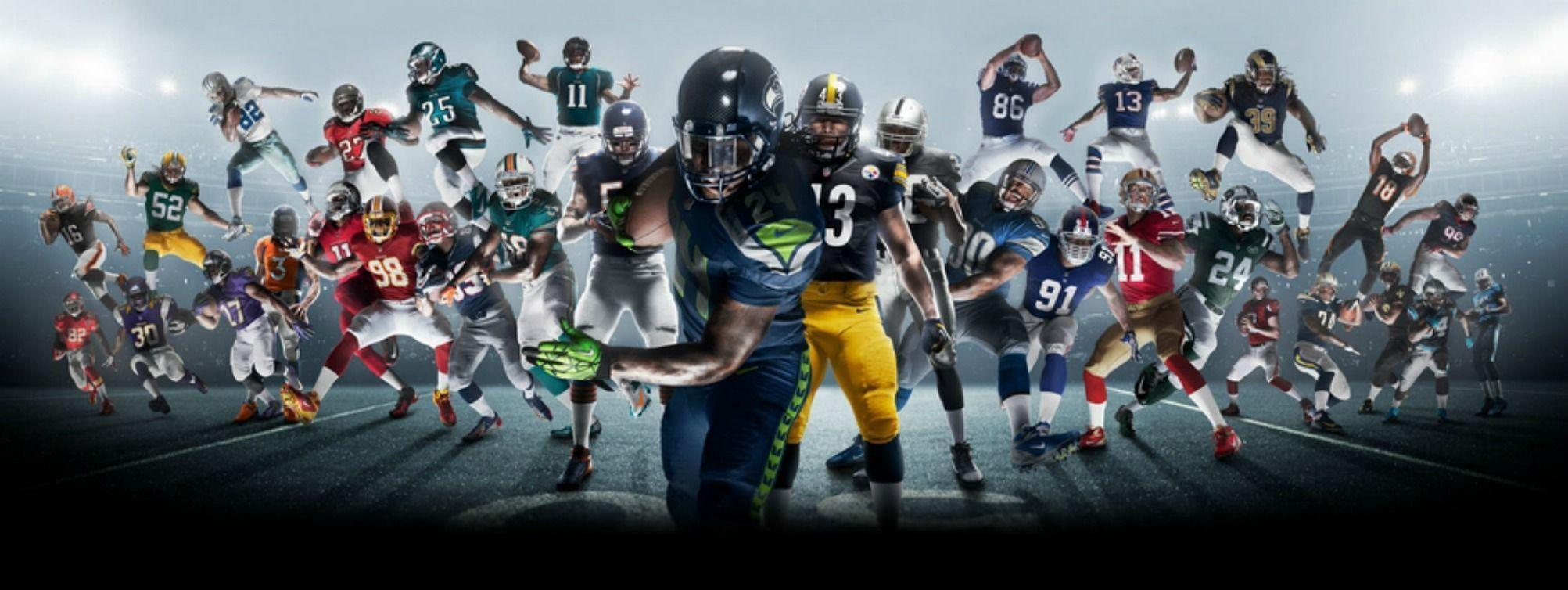 Nfl Wallpapers Hd Wallpapers Cool Hd Nfl Football Backgrounds Sportis
