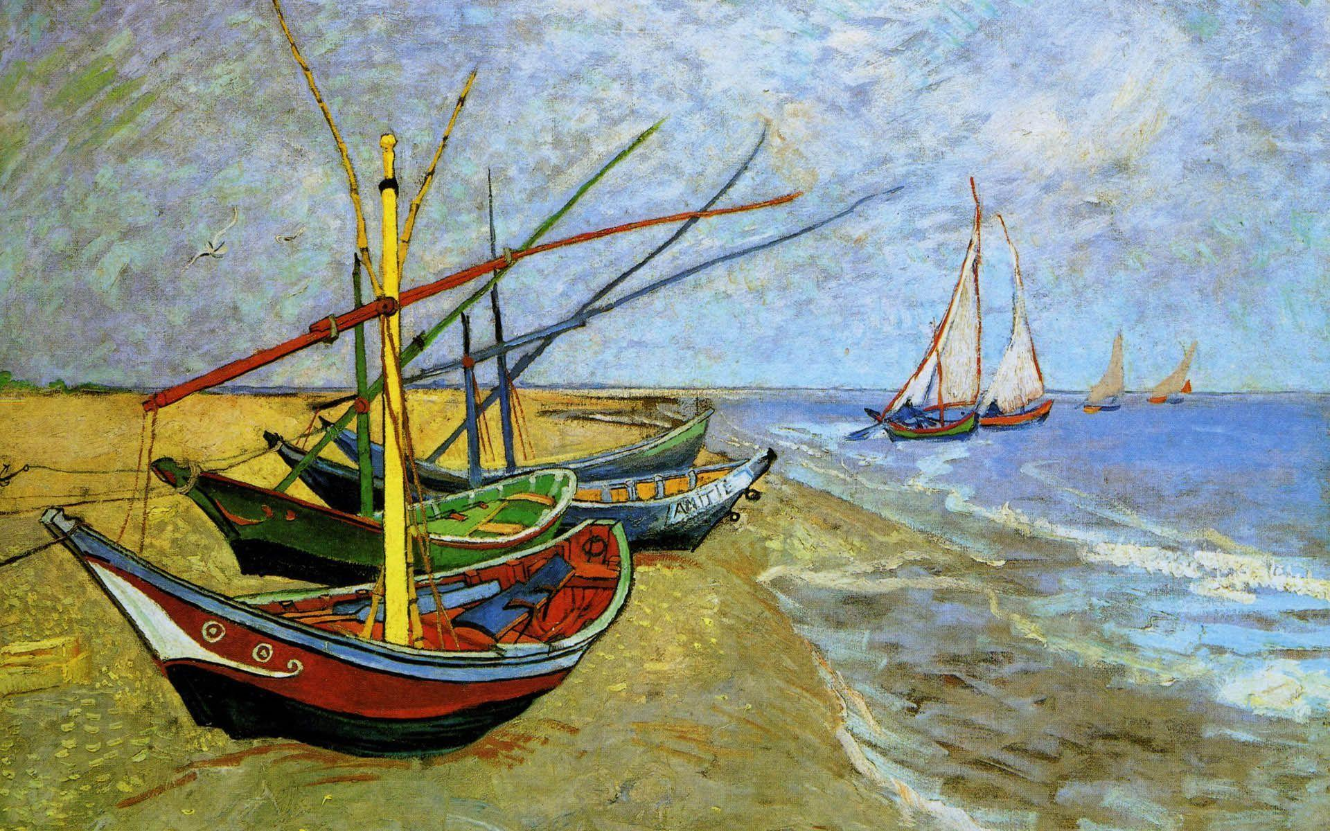 Van Gogh Painting High Resolution Wallpapers Download