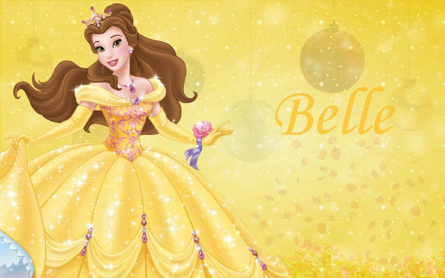 Princess belle wallpapers wallpaper cave for Belle image hd