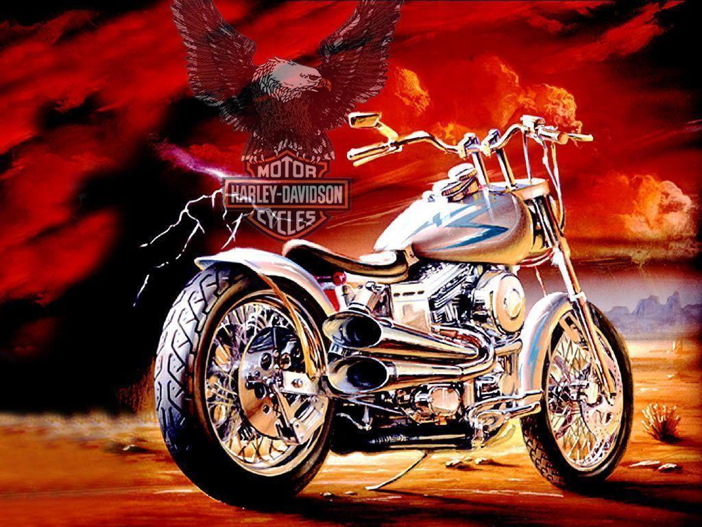 Harley Davidson - Harley-Davidson Wallpaper (10642694) - Fanpop
