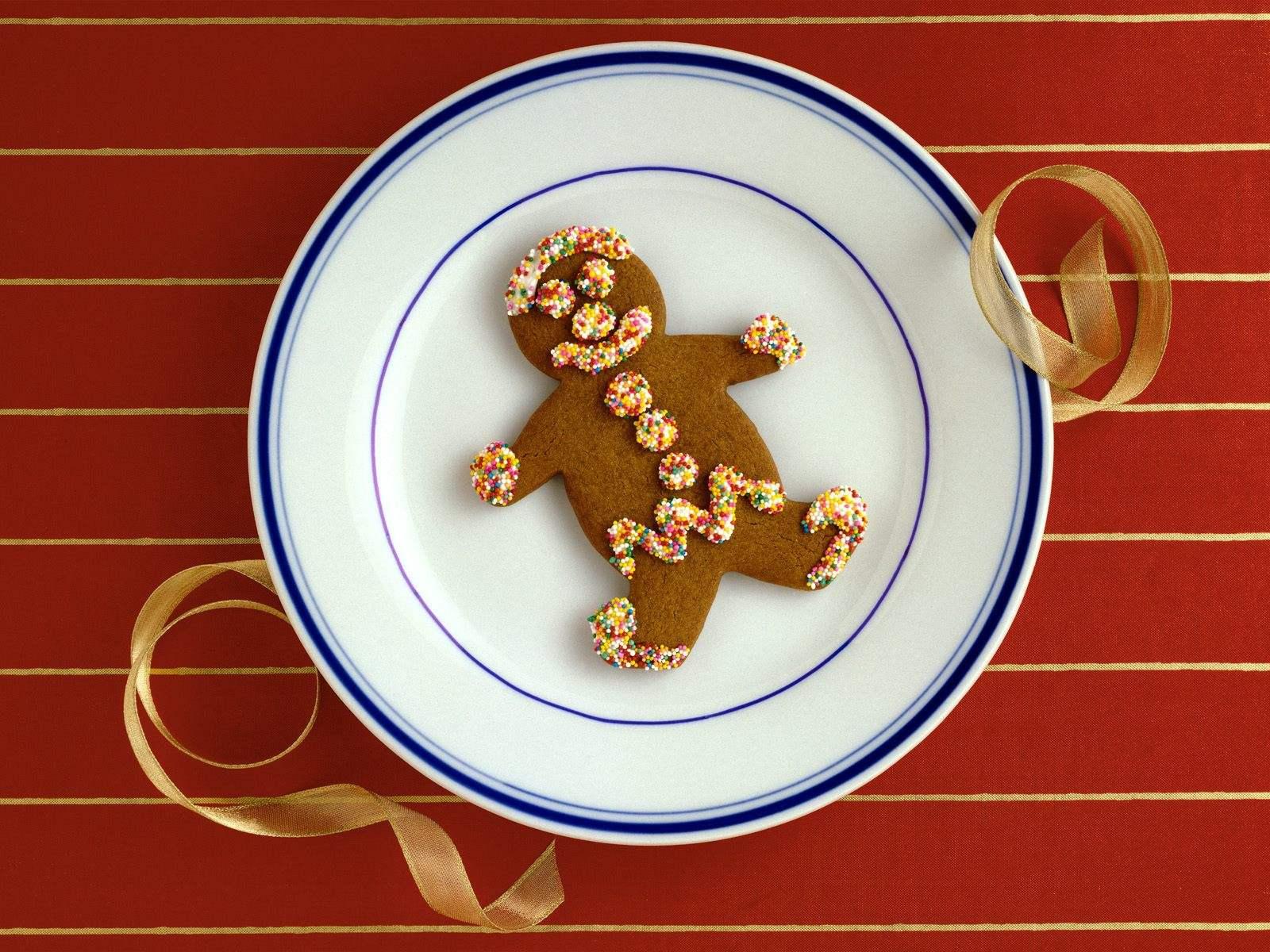 Gingerbread Man Wallpapers - Wallpaper - 263.8KB