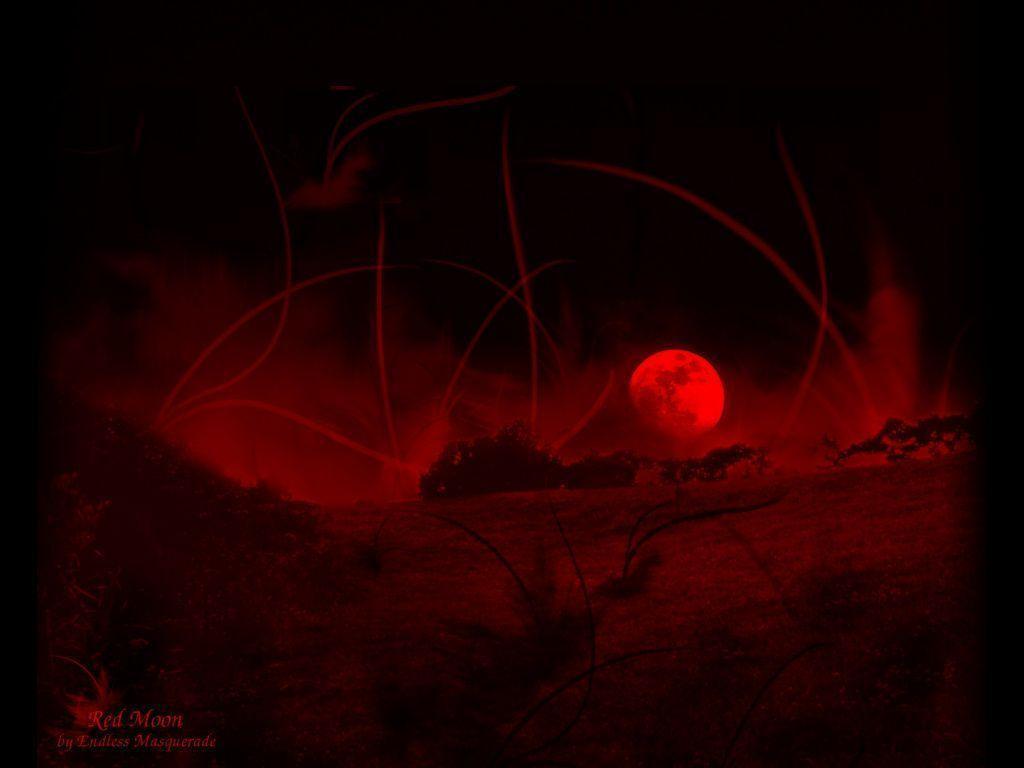 Red Moon Wallpaper