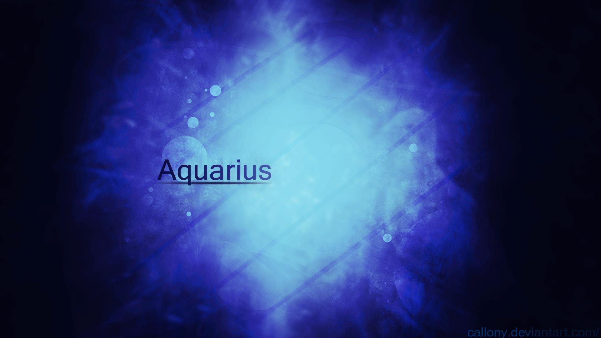 aquarius flower wallpaper hd - photo #7