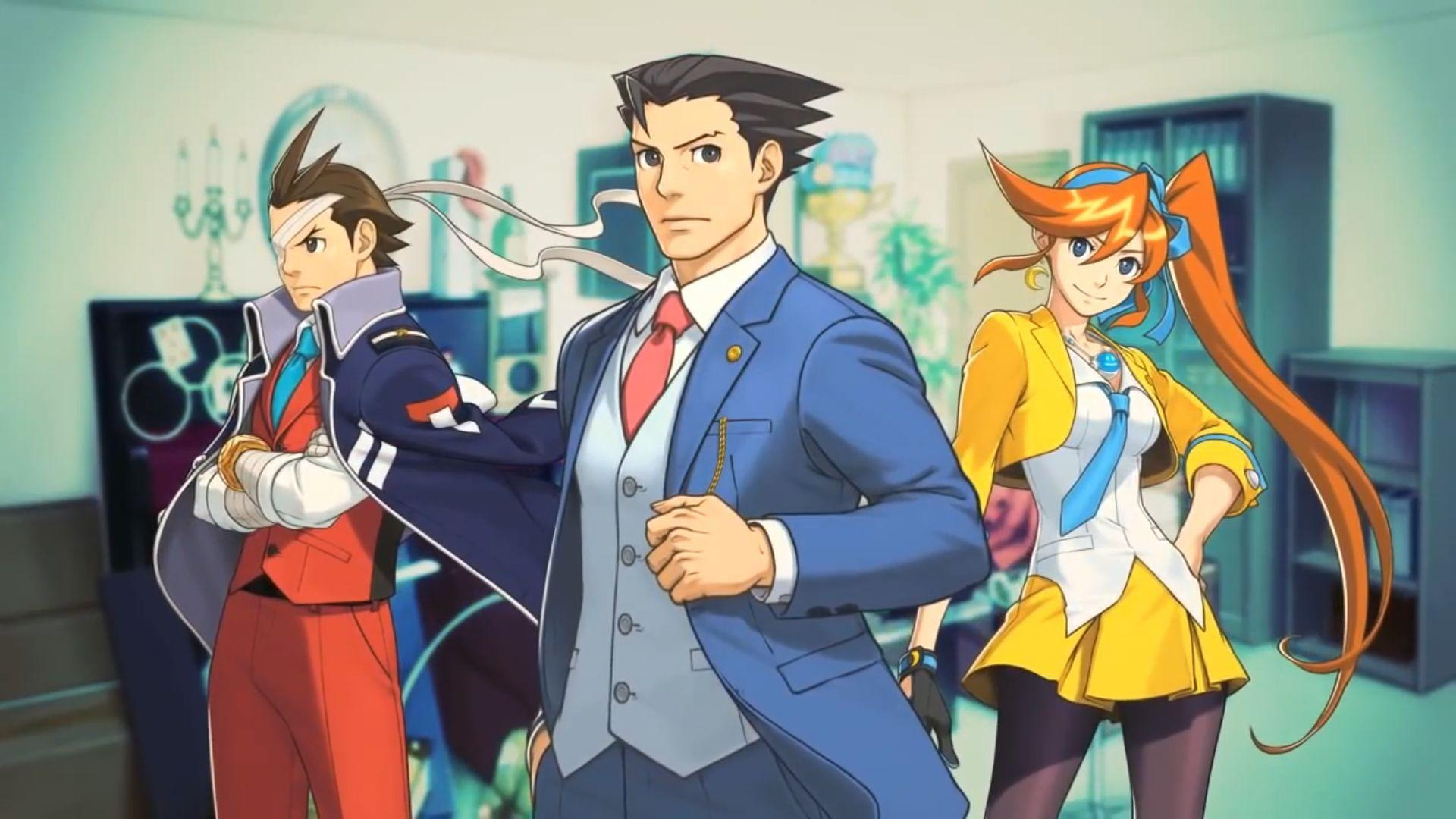 Ace Attorney Wallpapers Wallpaper Cave