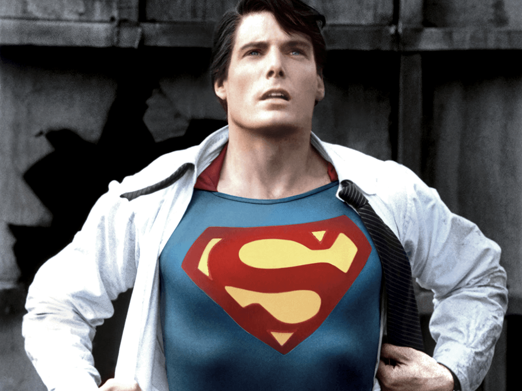 Pix For > Superman Christopher Reeve Wallpaper