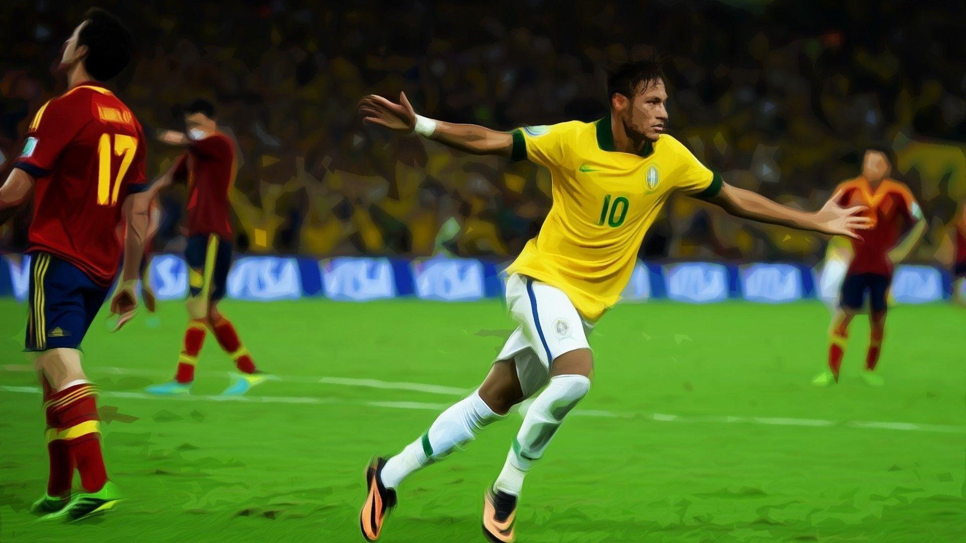 Soccer Wallpaper Neymar