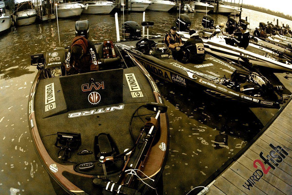 2012 Bassmaster Classic Practice Launch Photos - Wired2fish - Scout