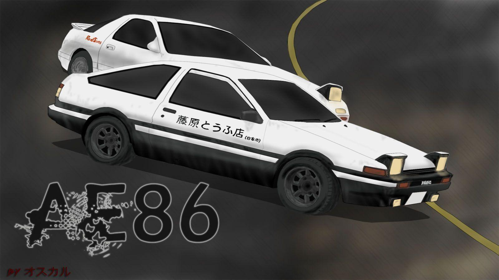 Initial D Ae86 Wallpapers