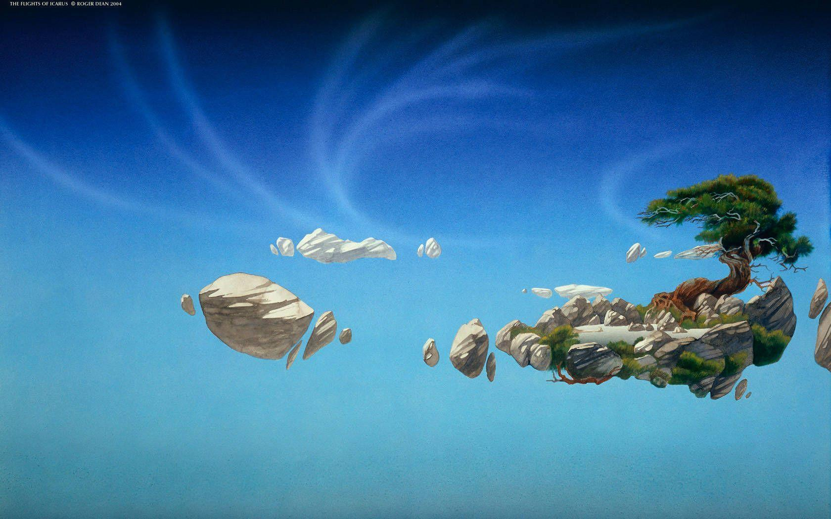 Roger Dean Wallpapers Wallpaper Cave
