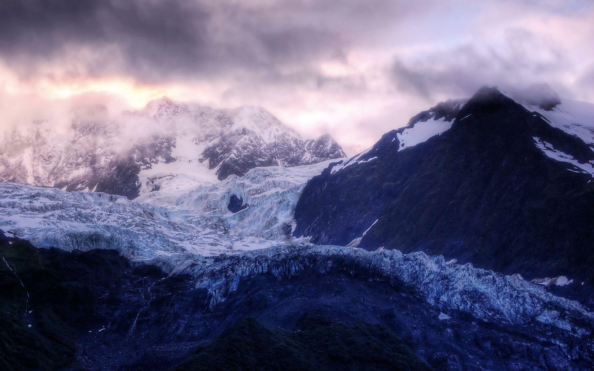 Winter mountain desktop backgrounds