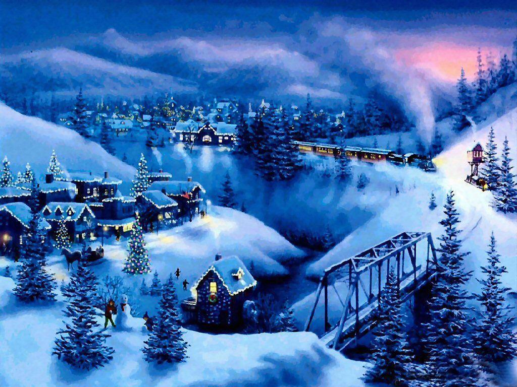 free download christmas scenes wallpaper free 4 30313 wallpaper