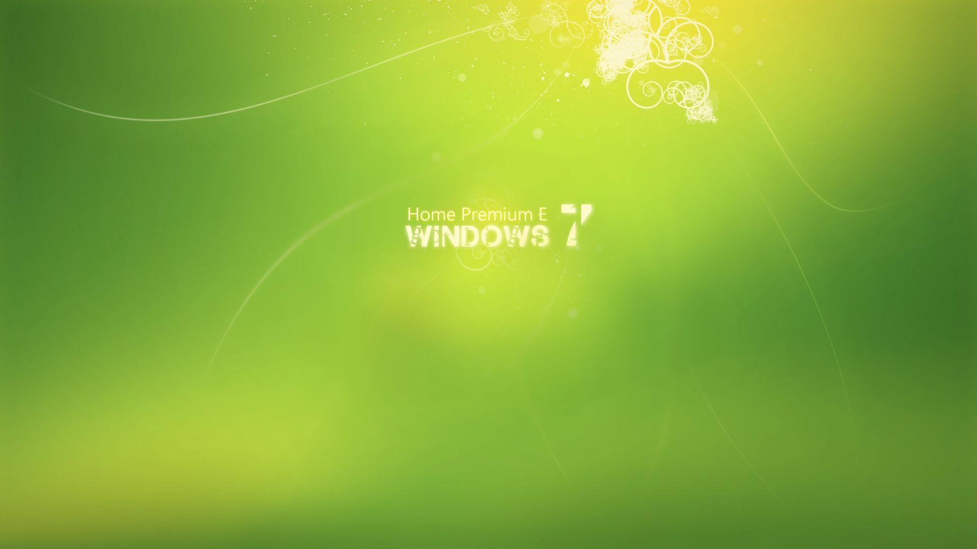 Windows 7 Home Premium HD Wallpapers