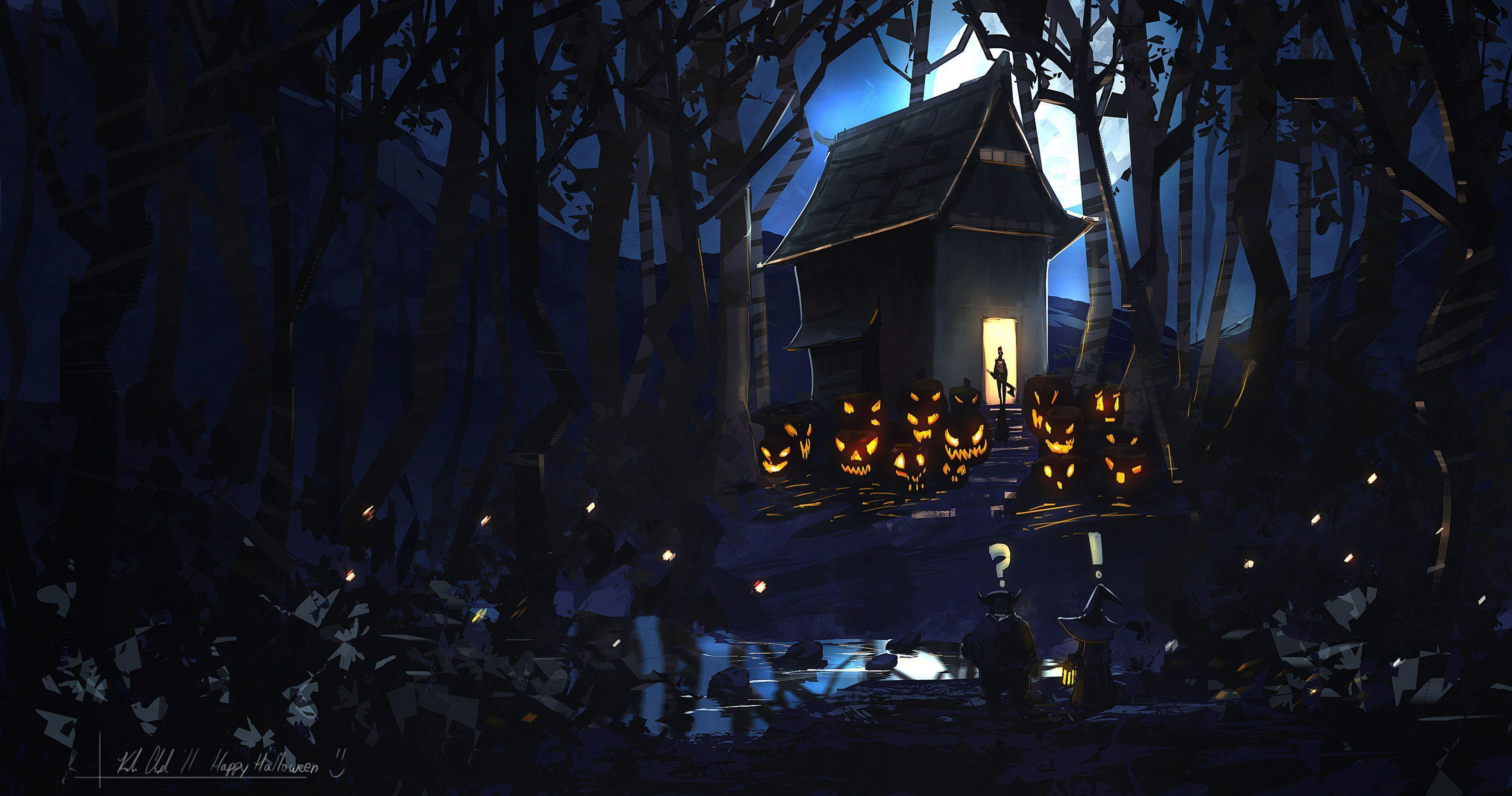 free scary halloween backgrounds wallpaper collection 2014 - Creepy Halloween Wallpapers
