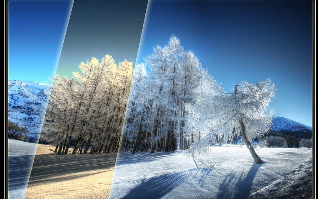 find beautiful winter wallpapers - photo #7