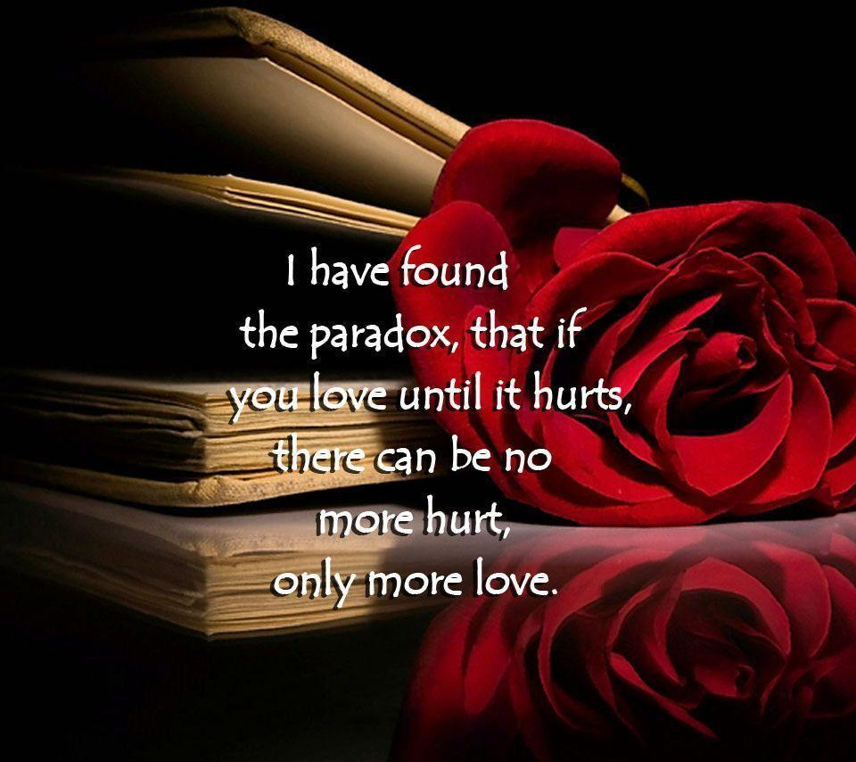 Love Hurts Wallpapers With Quotes Wallpaper Cave