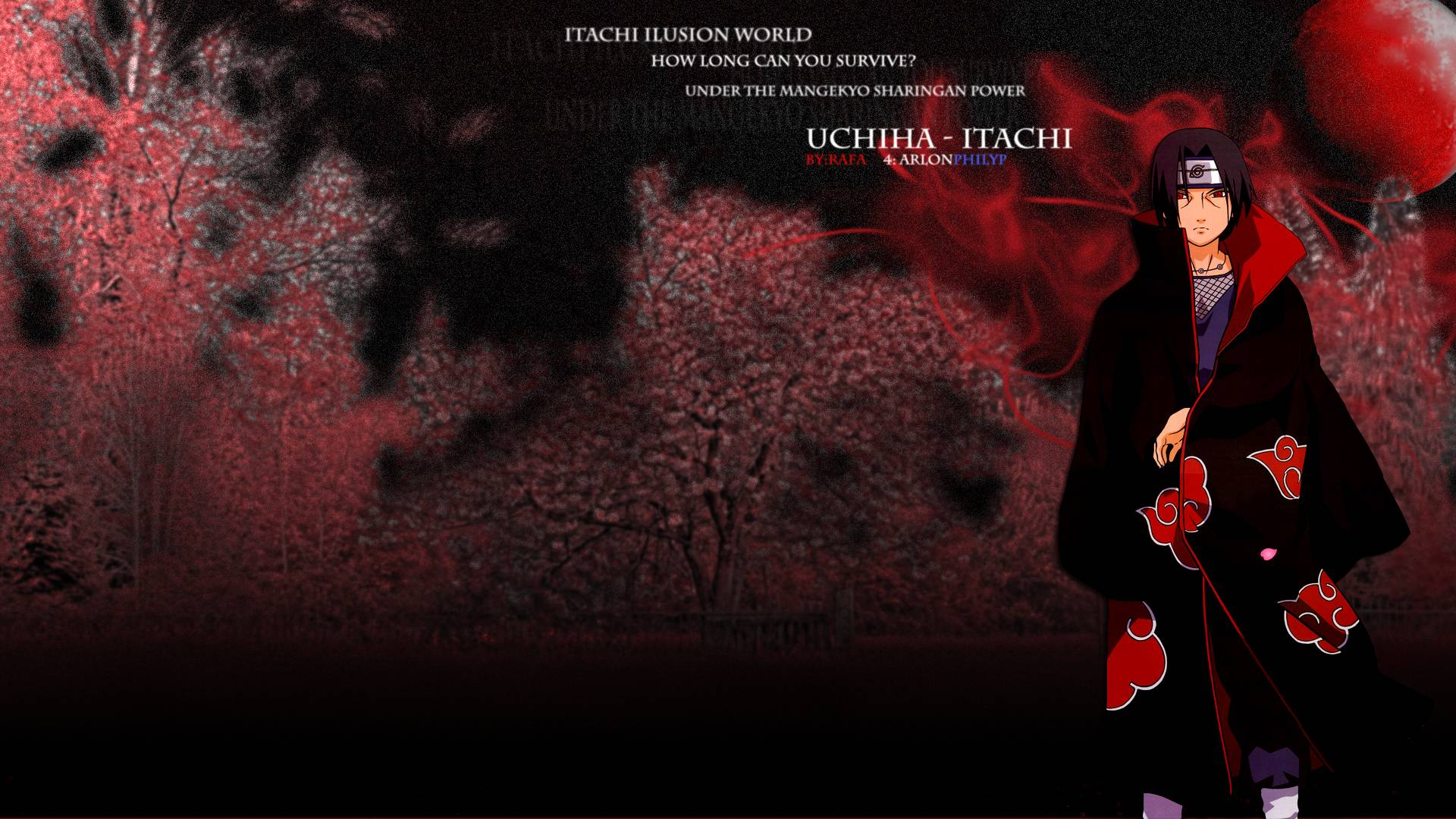 wallpapers for uchiha itachi wallpaper 1920x1080