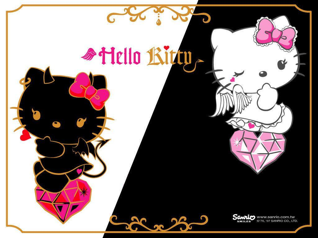 Hello kitty devil wallpapers wallpaper cave - Hello kitty wandlampe ...