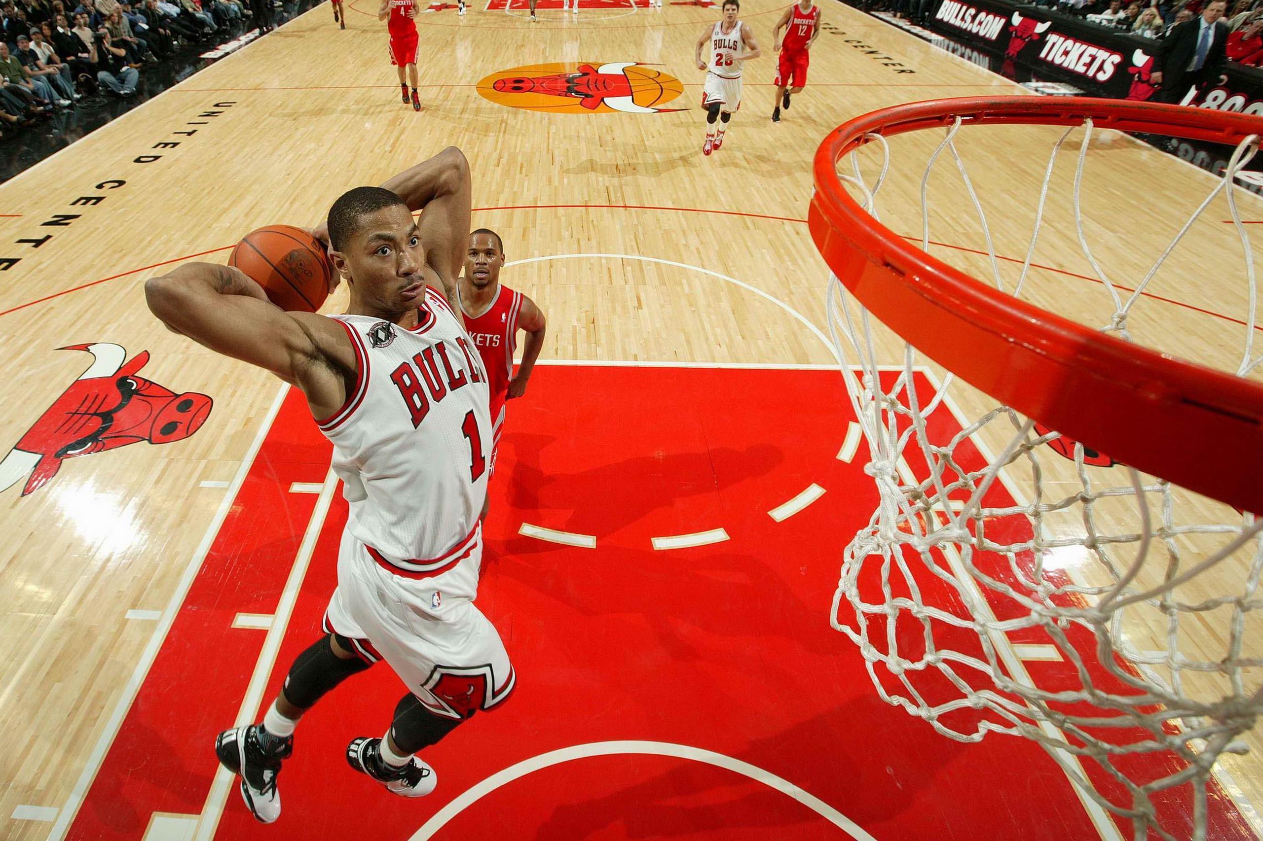 derrick rose wallpaper dunk - photo #10