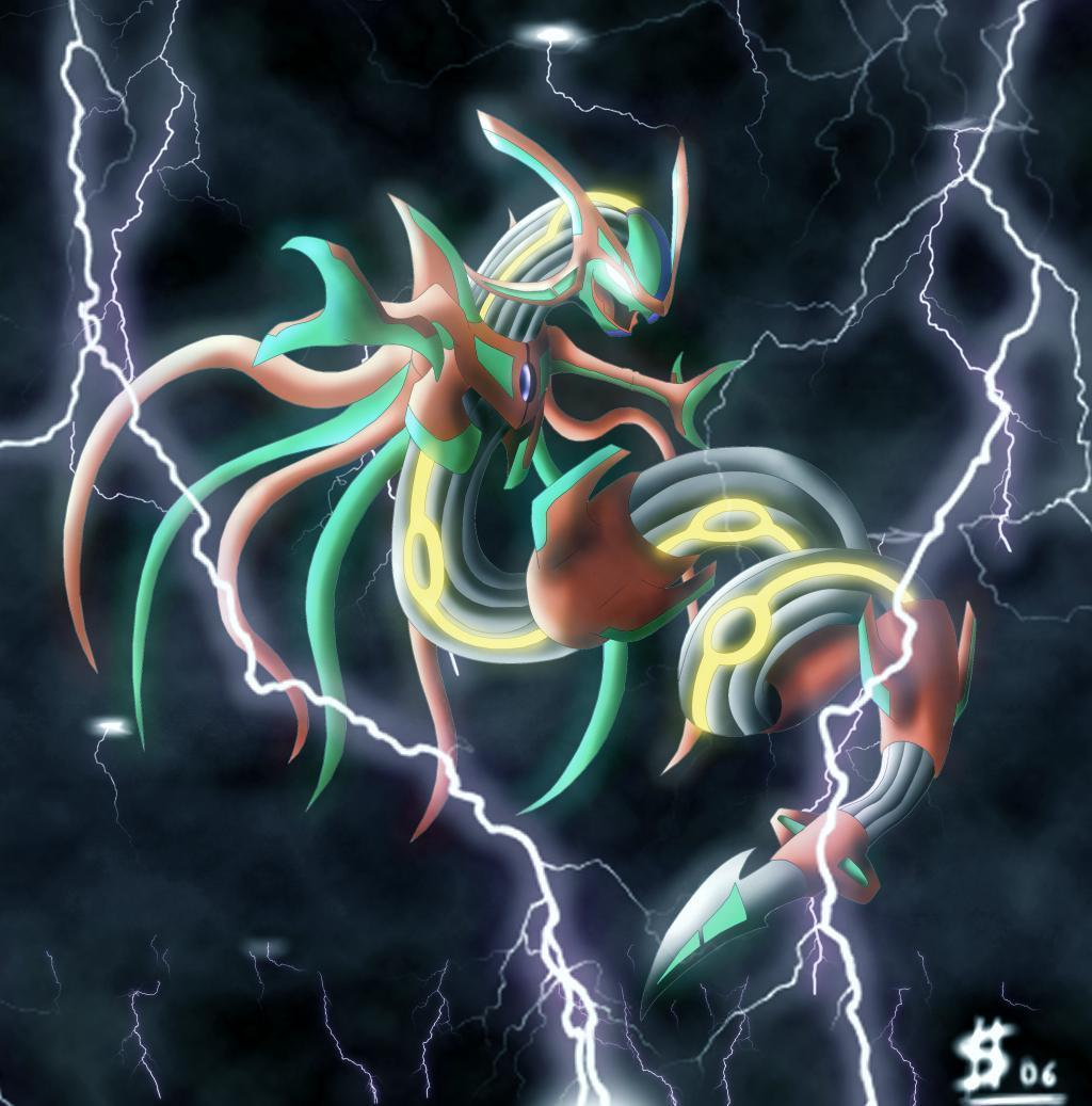 Wallpapers For Pokemon Wallpaper Shiny Rayquaza