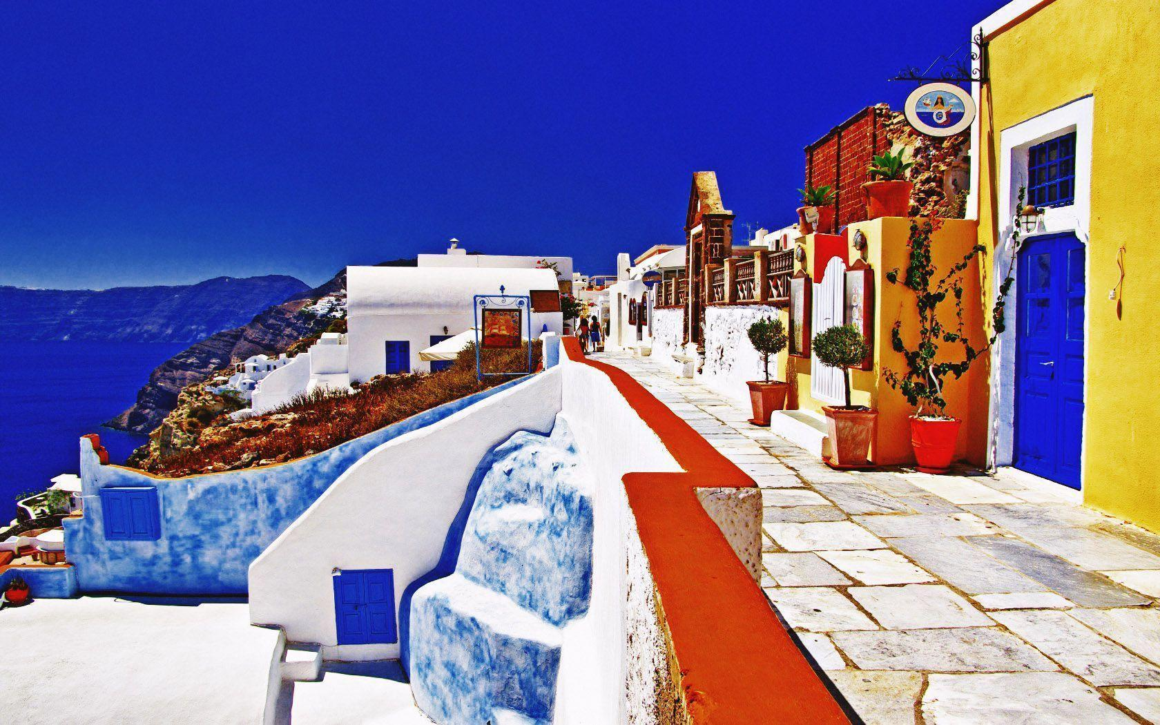 oia greece santorini wallpaper - photo #28