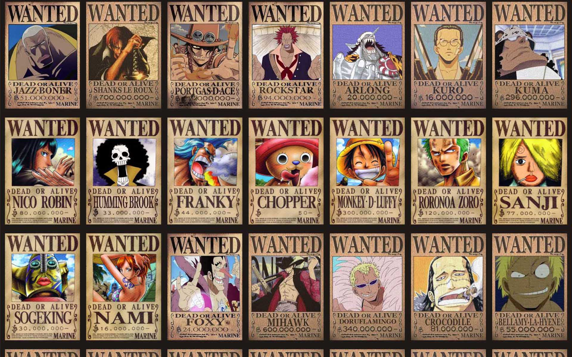 one piece hd wallpapers king of the pirates