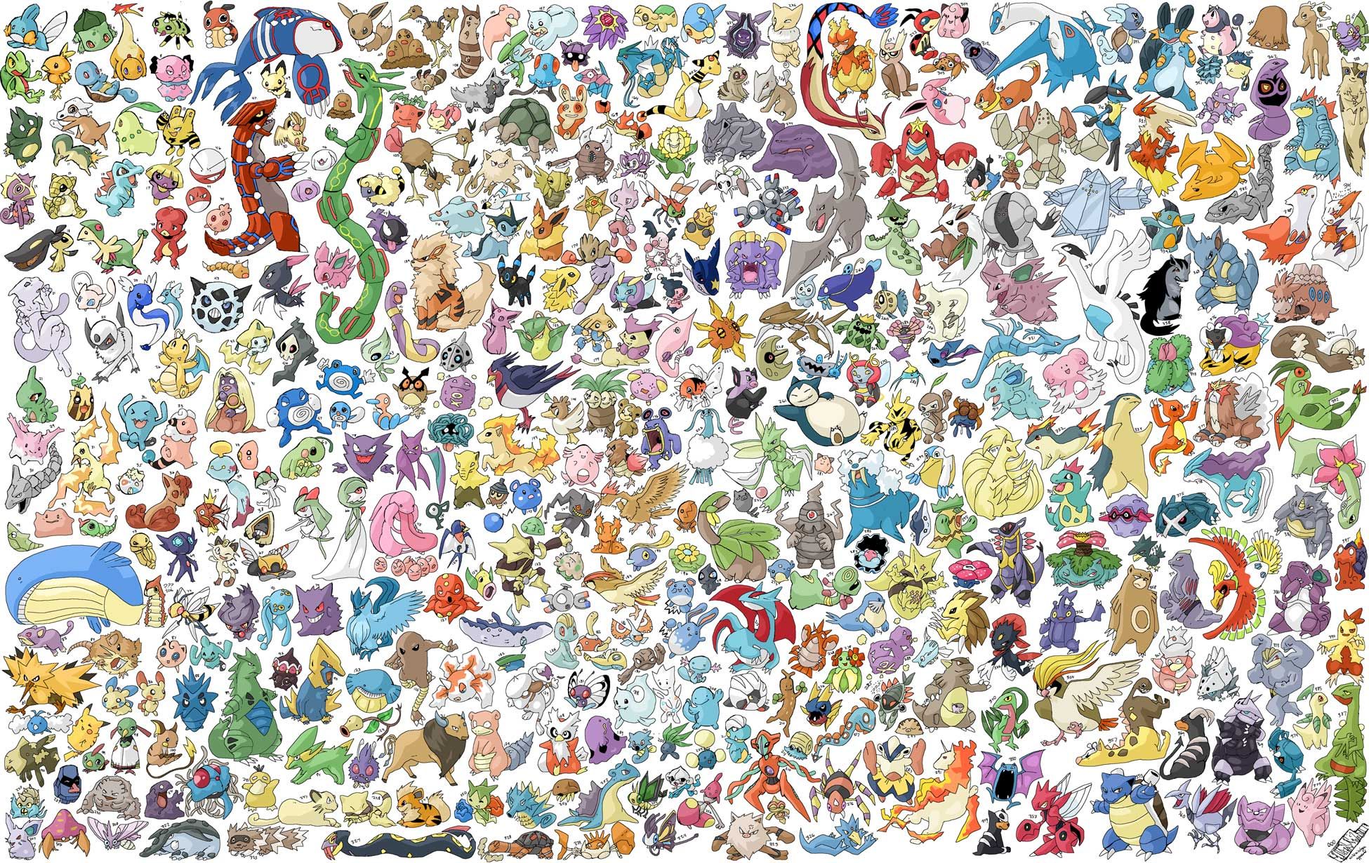 All pokemon wallpapers wallpaper cave for Where to find wallpaper