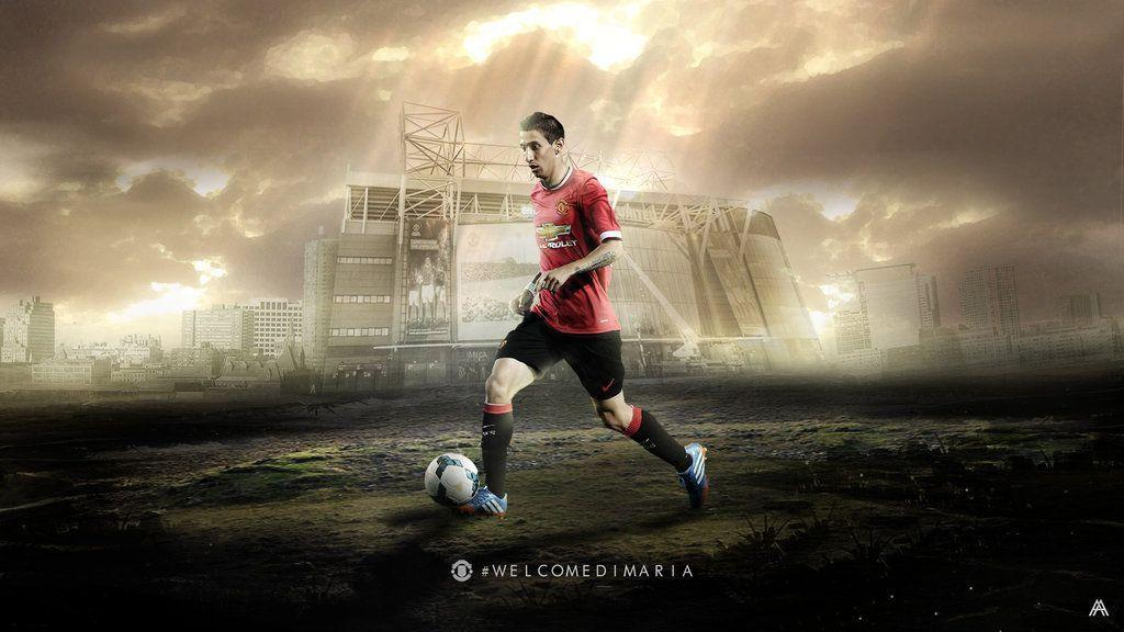 Angel Di Maria, Manchester United football wallpapers