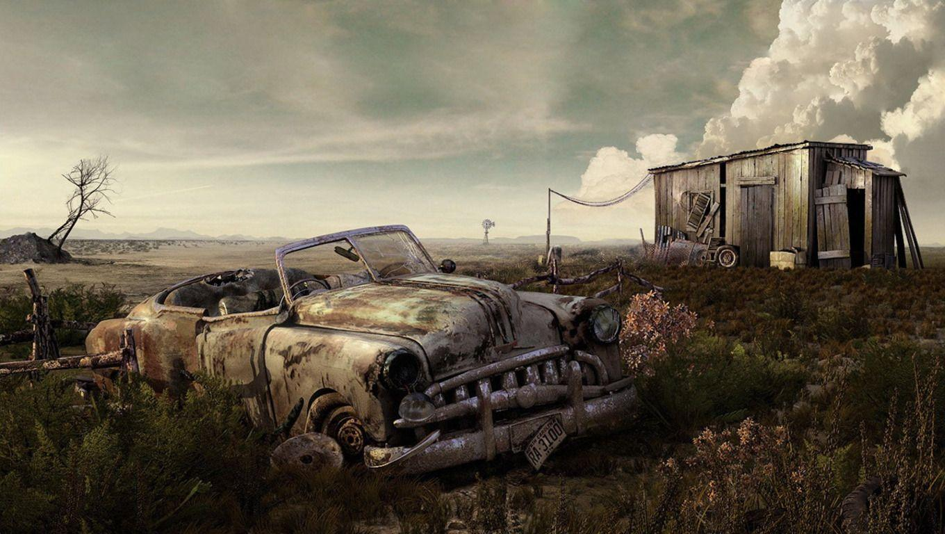 Wasteland wallpapers wallpaper cave for Classic house wallpaper