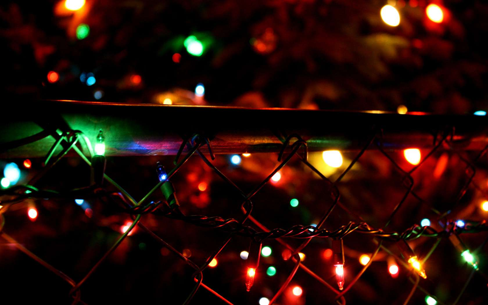 Christmas Lights Backgrounds - Wallpaper Cave