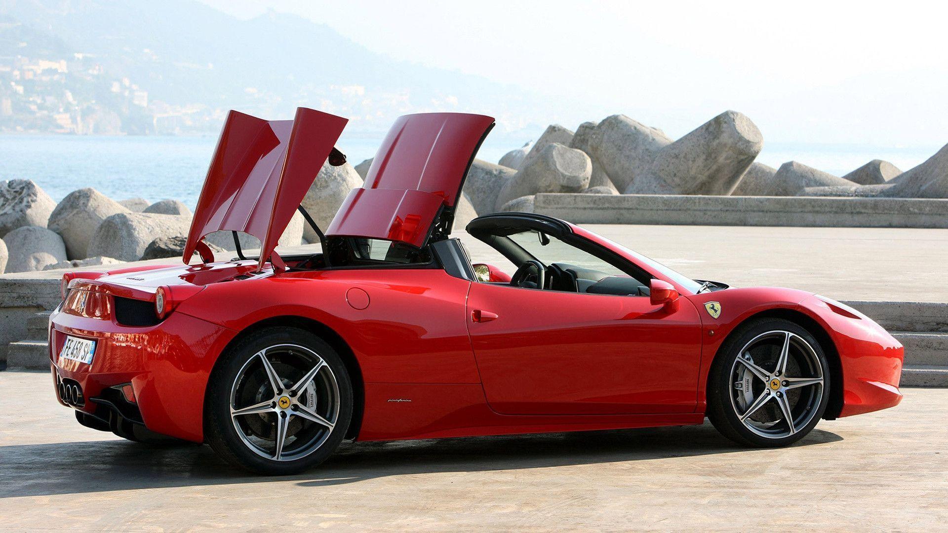 View Ferrari 458 Widescreen Wallpaper  Pics
