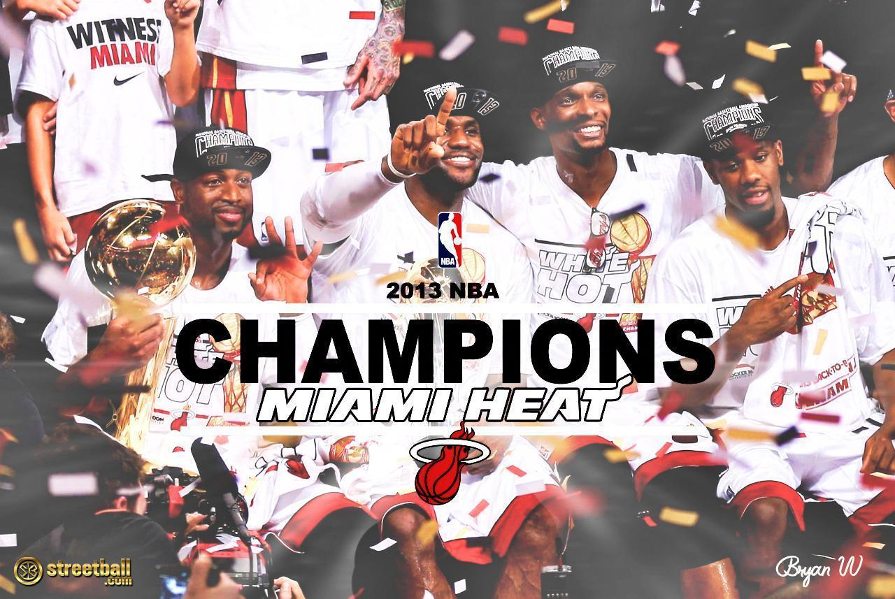 Mi miami heat team with lebron - Basketball Wallpaper Miami Heat Championship Wallpaper Guemblung